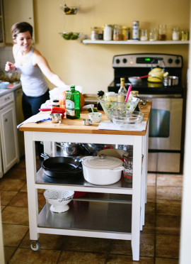 The Making of a Cookbook & Rental Kitchen Tips