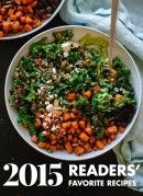 Top 10 favorite vegetarian recipes from 2015! cookieandkate.com
