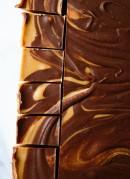 Chocolate peanut butter freezer fudge - cookieandkate.com