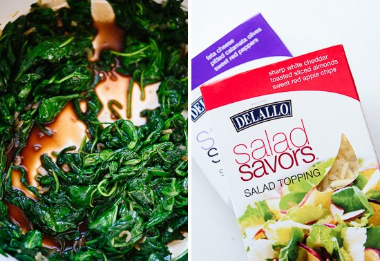 DeLallo Salad Savors packaging