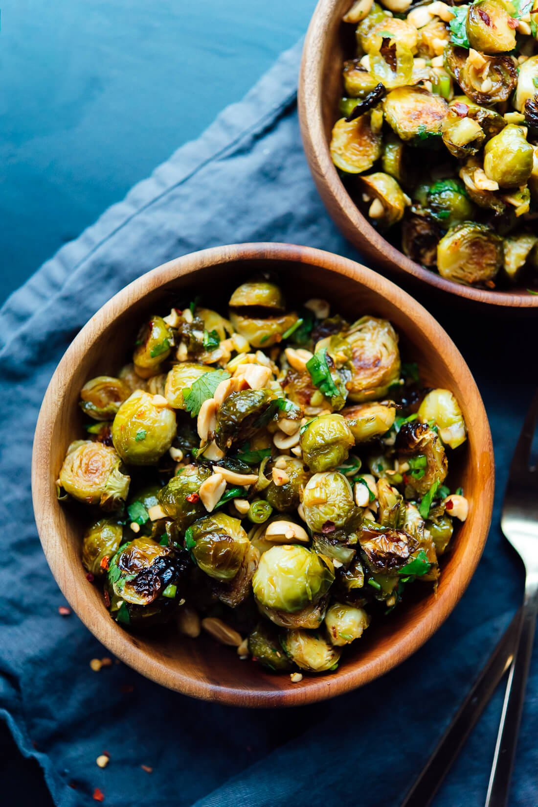 kung pao brussels sprouts recipe