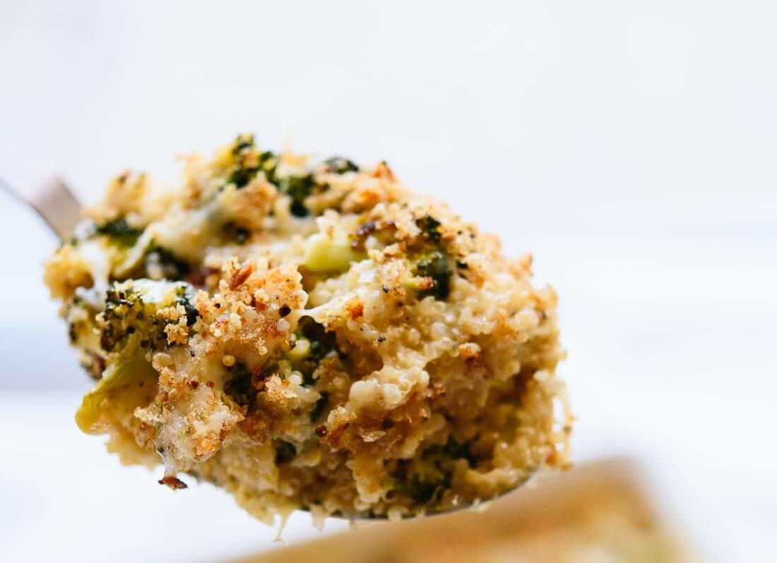 Broccoli cheddar gratin - cookieandkate.com