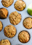 Trust me, no one will suspect that these fluffy cinnamon apple muffins are healthy! cookieandkate.com
