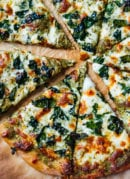 Kale Pesto Pizza