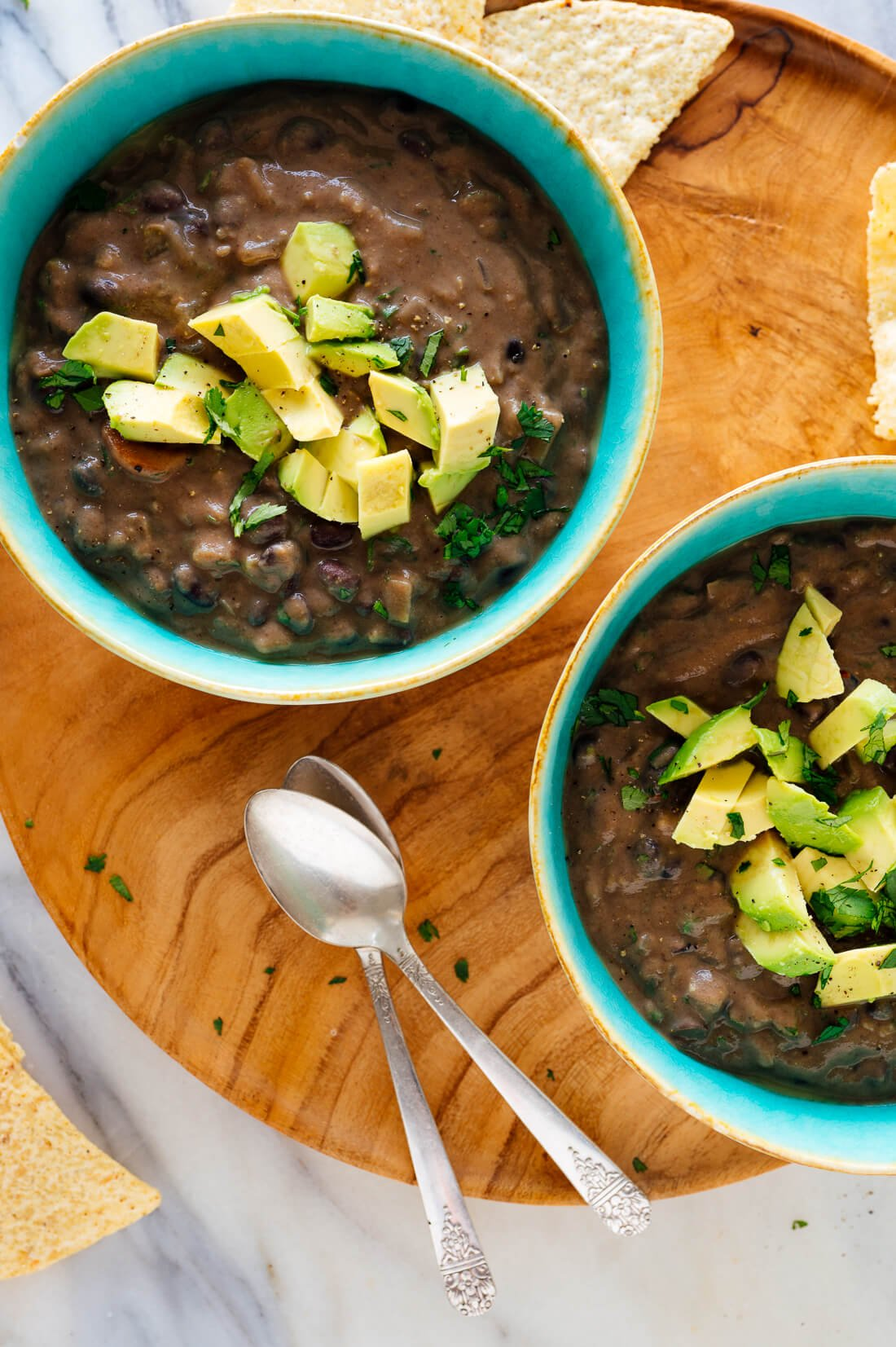 Spicy Black Bean Soup Recipe Cookie And Kate