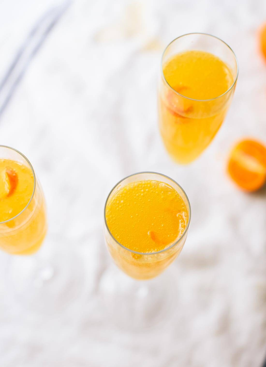 Clementine French 75 recipe - cookieandkate.com