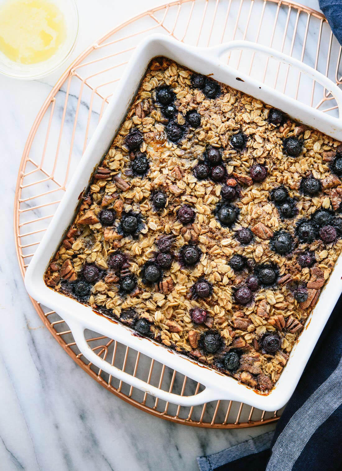 Baked Oatmeal Recipe With Blueberries - Cookie And Kate