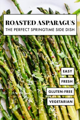 basic roasted asparagus