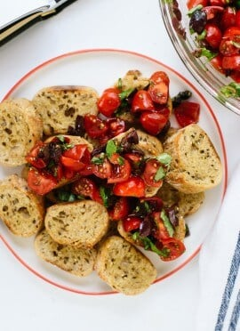 Dana's Greek Bruschetta
