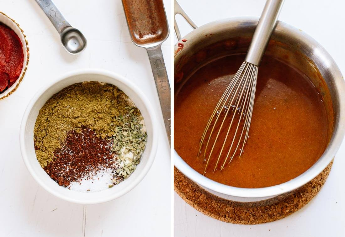 how to make enchilada sauce