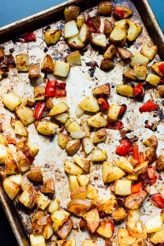 Extra crispy breakfast potatoes (also known as home fries). These are a great addition to your breakfast or brunch.