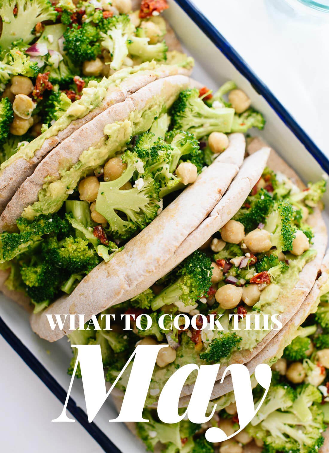 What to cook with May #seasonalrecipes