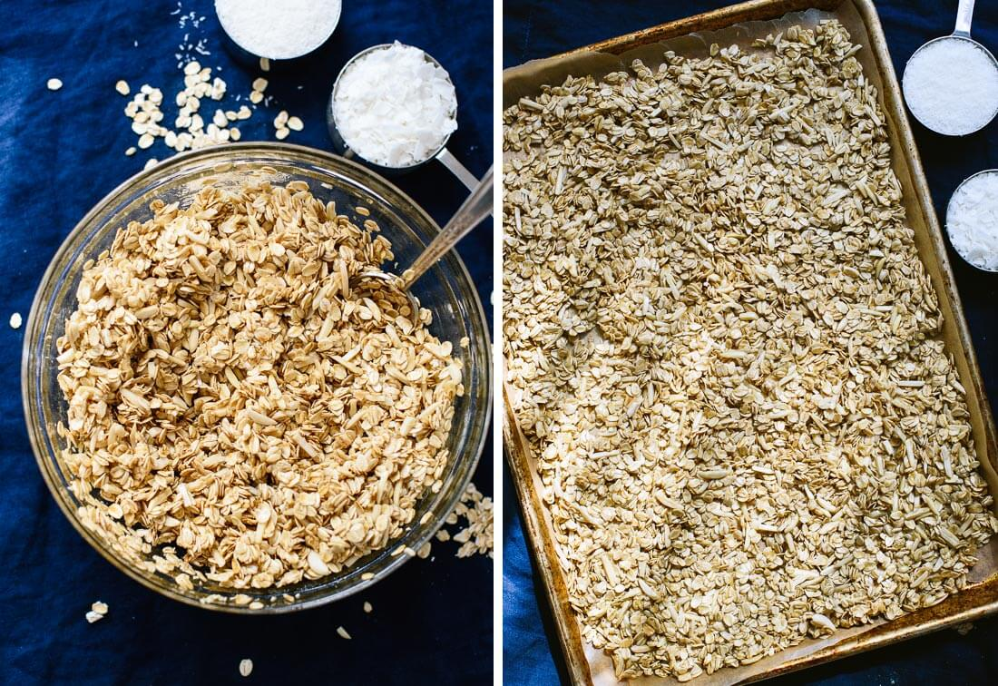 how to make coconut granola