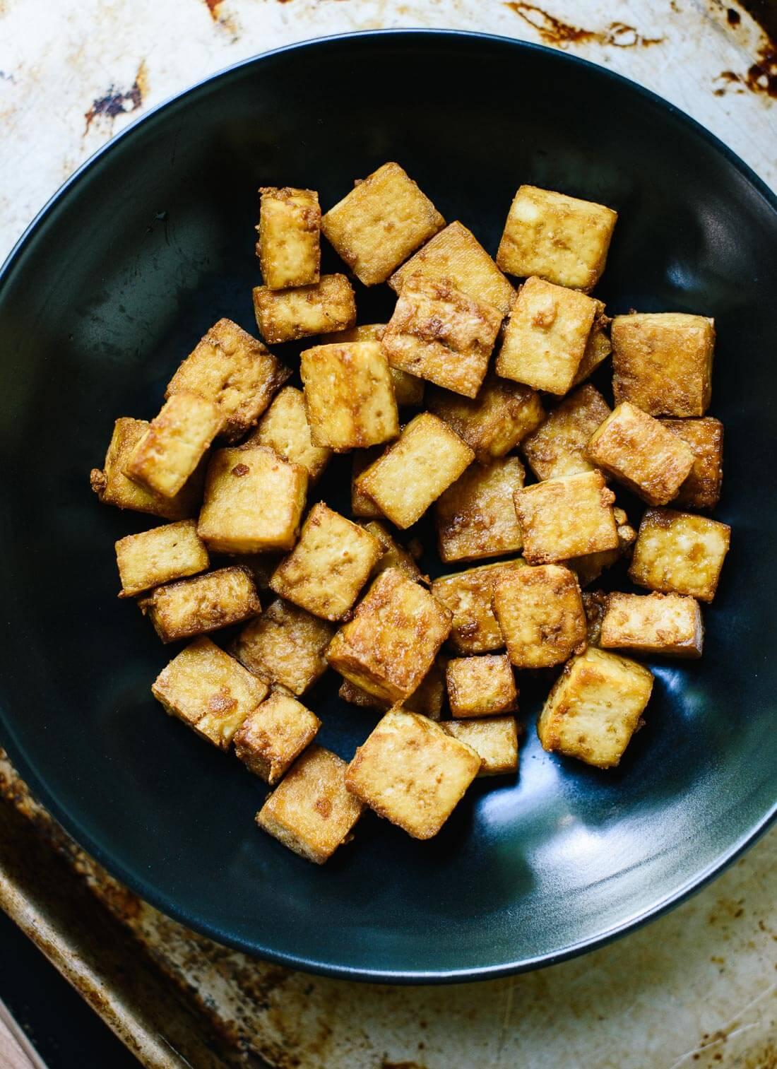 How To Make Crispy Baked Tofu