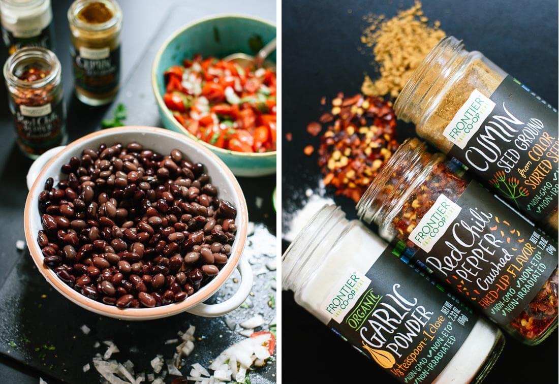 refried black beans ingredients