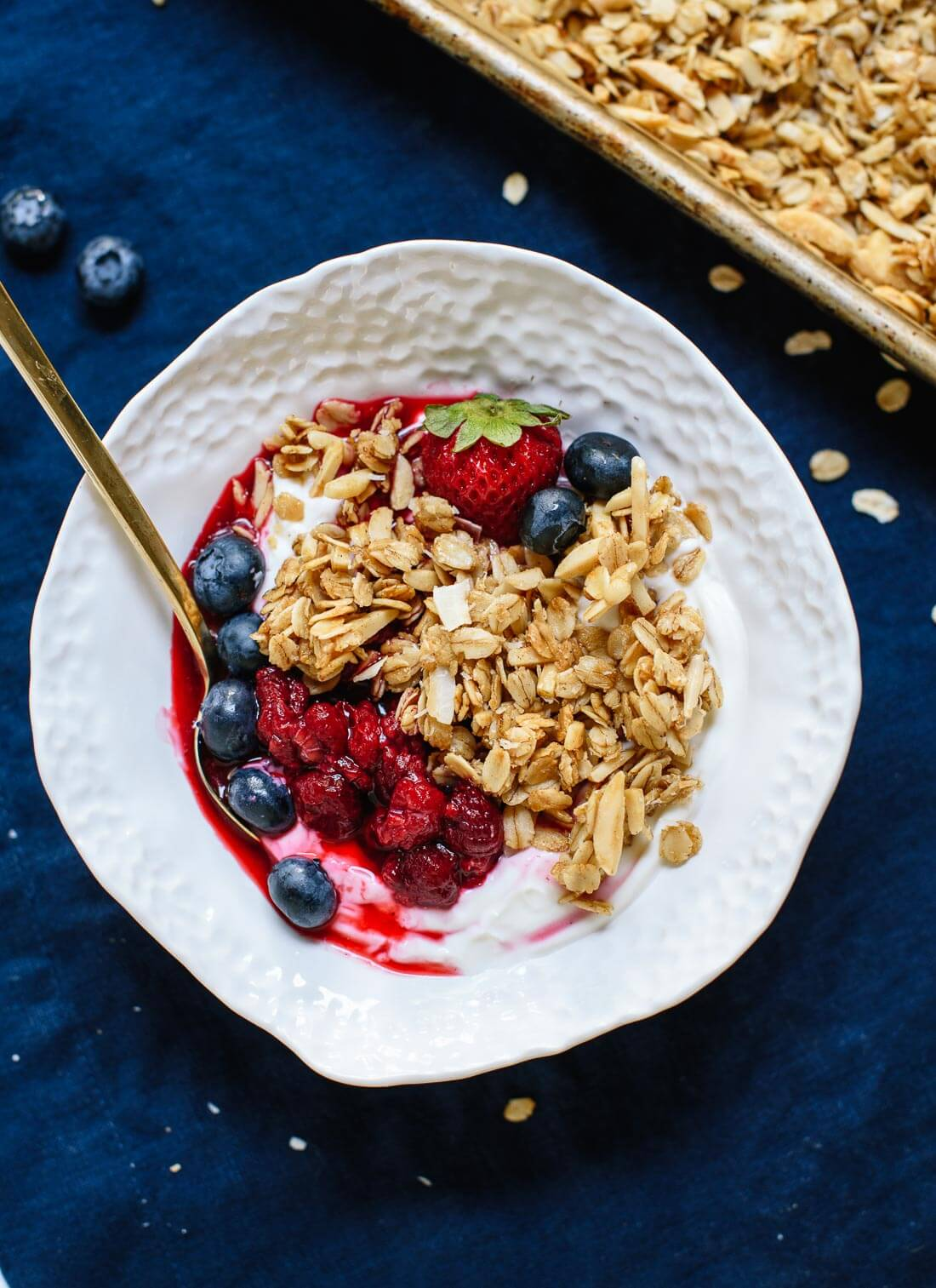 Triple Coconut Granola