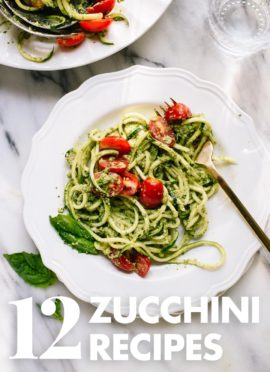 12 Delicious Zucchini Recipes