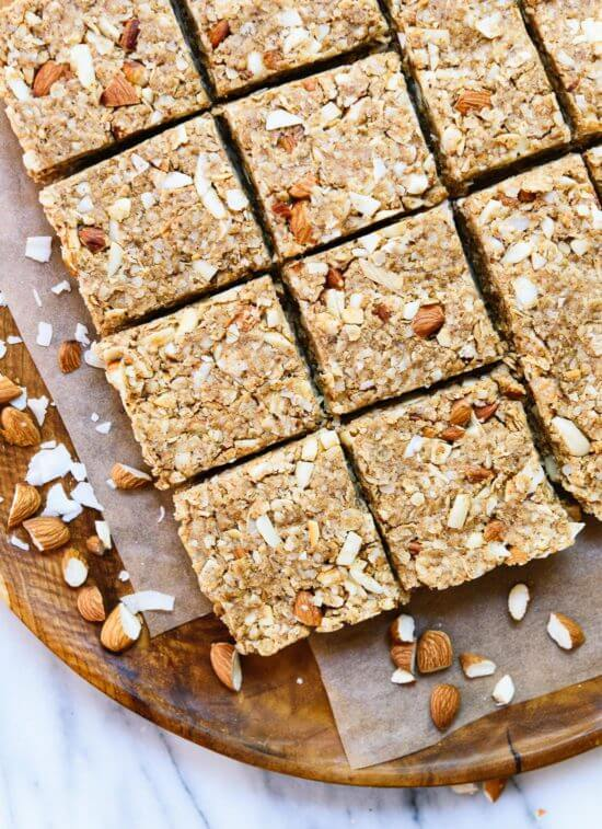 Almond Coconut Granola Bars | Cookie and Kate | Bloglovin'