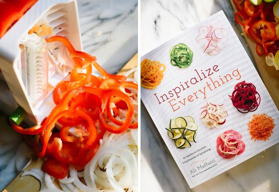 Inspiralize Everything by Ali Muffucci
