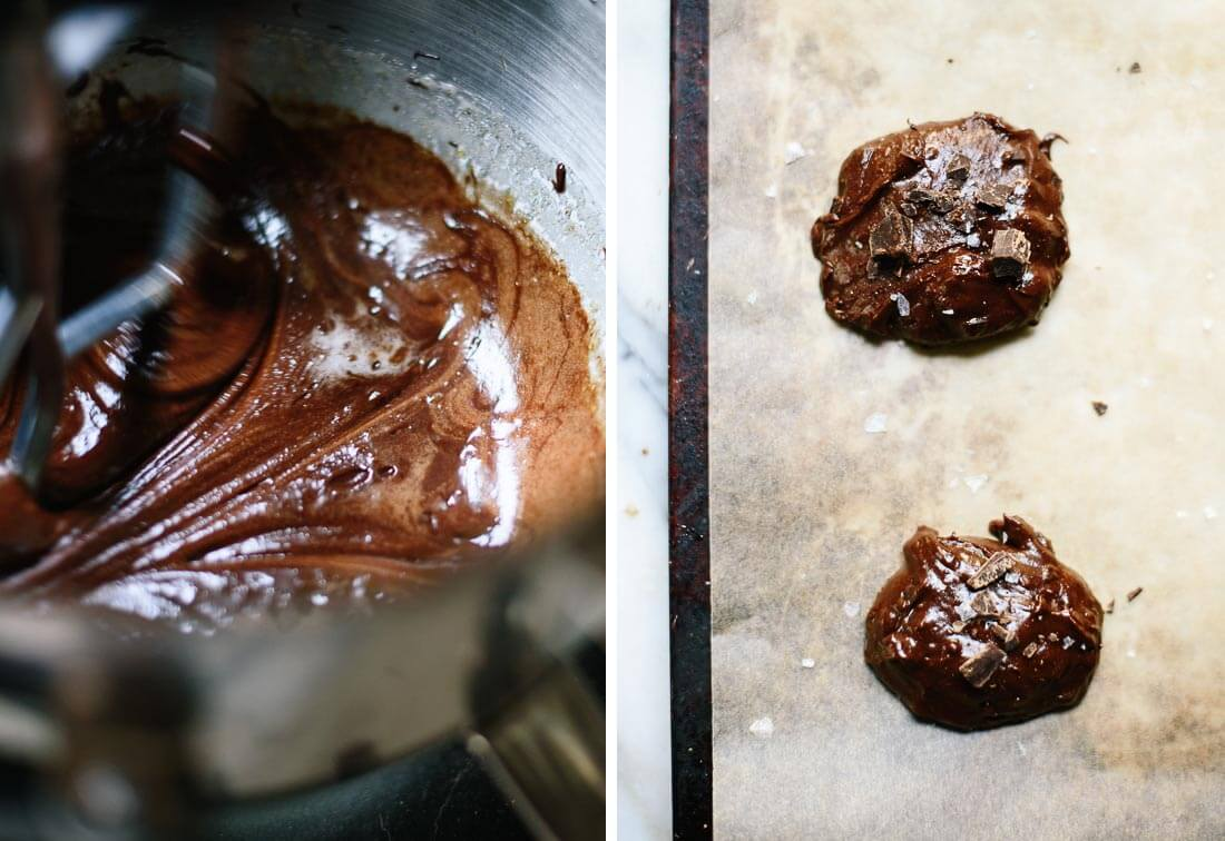 chocolate cookie batter