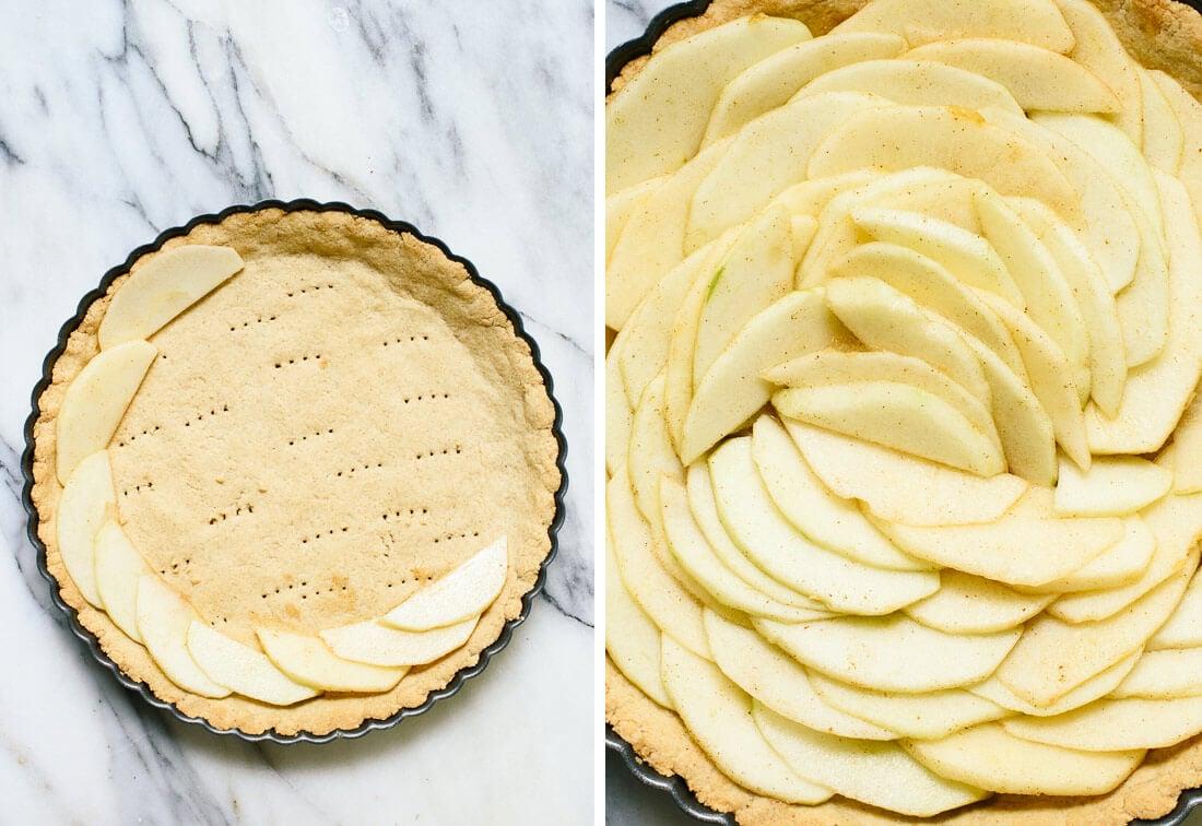 how to make an apple tart in rose shape
