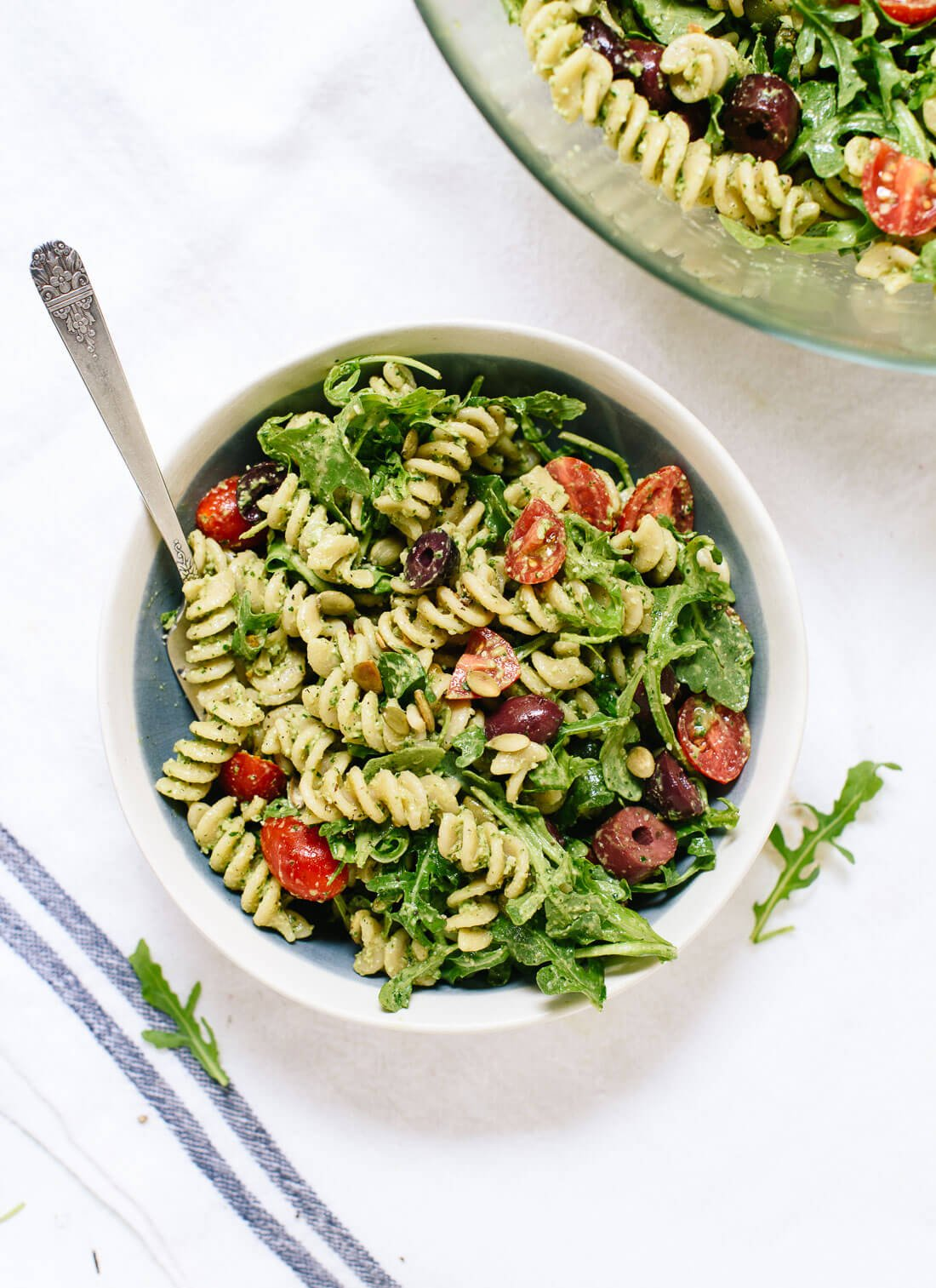 Pesto Pasta Salad Recipe Cookie And Kate