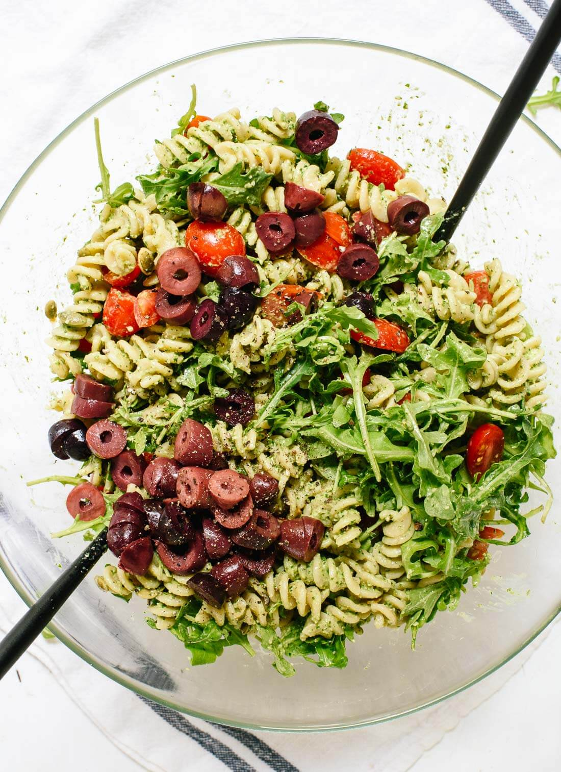 Easy healthy pesto pasta recipes