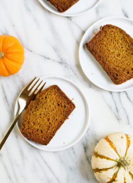 Healthy Pumpkin Bread! (& video)