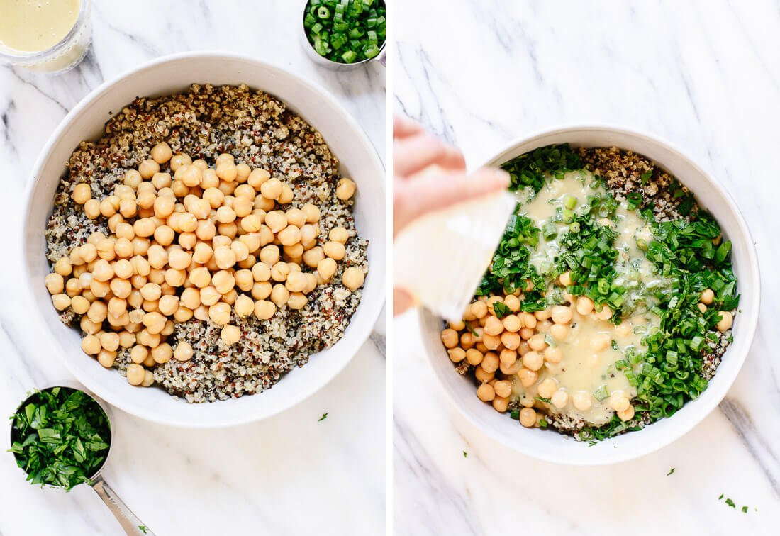 how to make quinoa salad