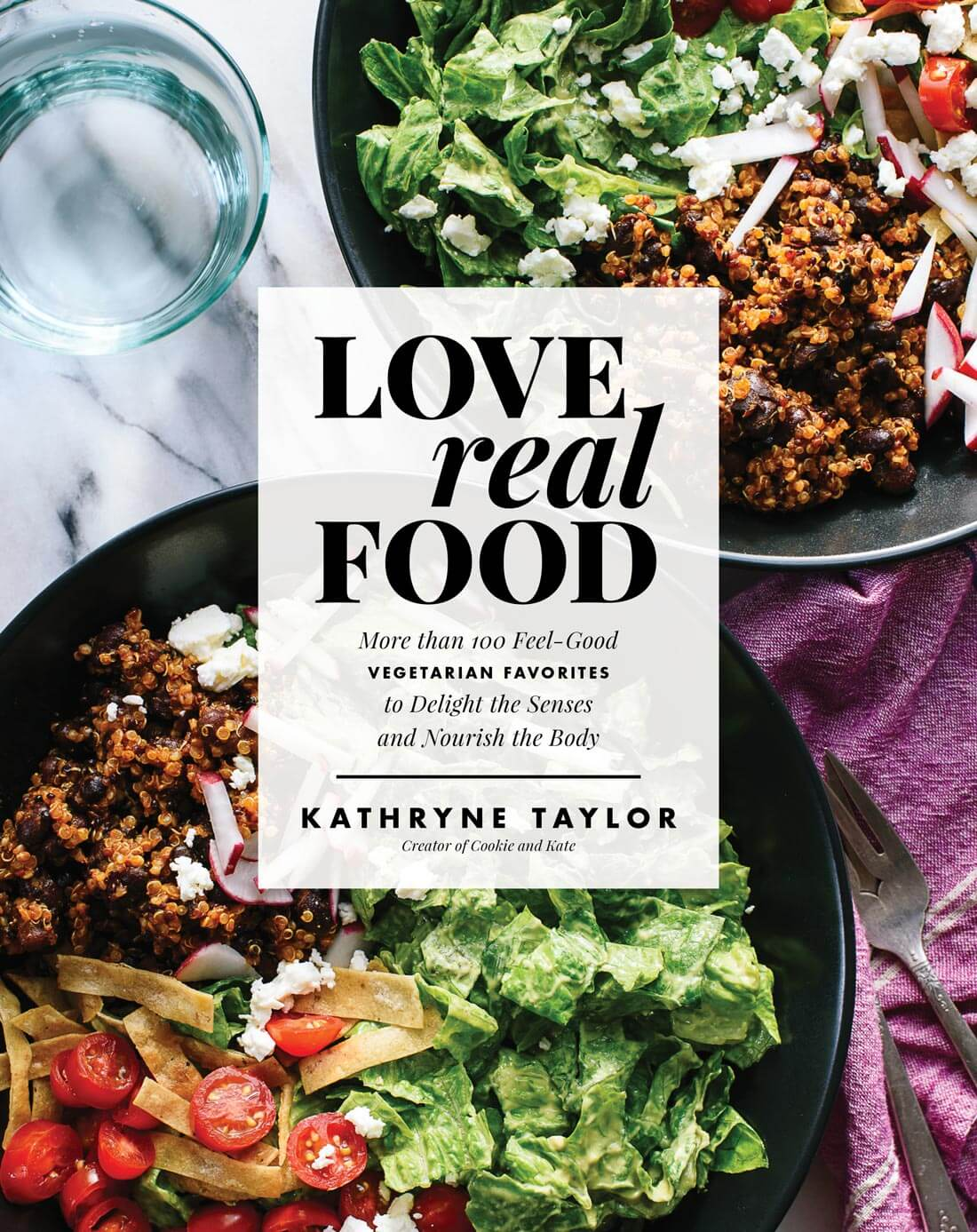 Love Real Food's cover