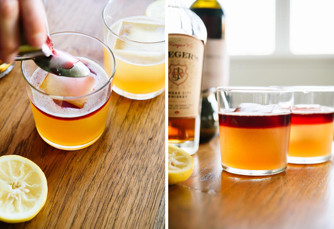 how to make new york sours