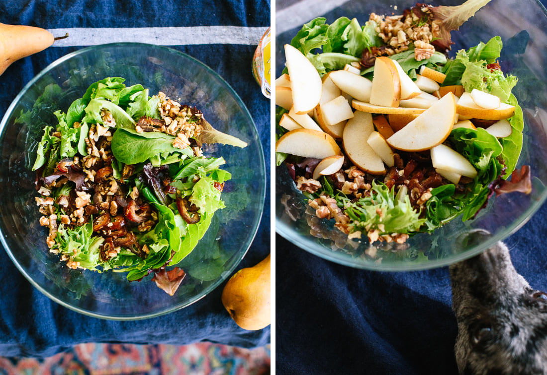 how to make pear salad