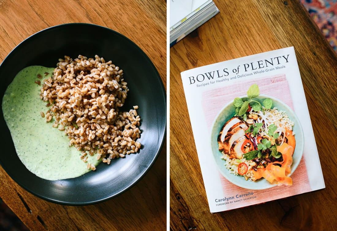 bowls of plenty book