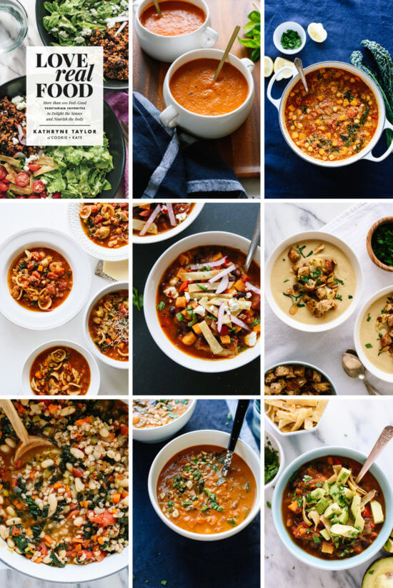 View all the soup recipes in Cookie and Kate's cookbook, Love Real Food!