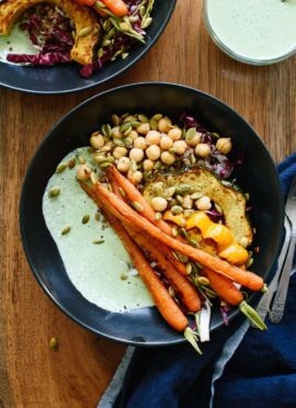 Farmers' Market Bowl with Green Goddess Sauce