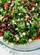 Mexican(ish) Kale & Quinoa Salad
