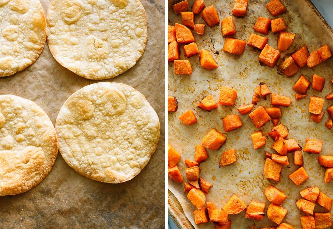 Baked Tostadas Recipe — Dishmaps