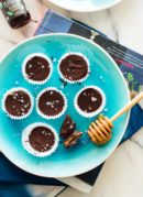 Easy chocolate peppermint cups recipe from Jessica Murnane's new cookbook, One Part Plant