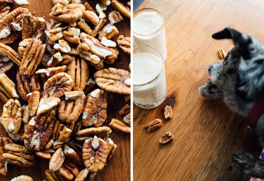 Pecan milk has a more nut-forward flavor, while cashew milk is neutral ...