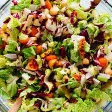 Vegetarian Italian Chopped Salad