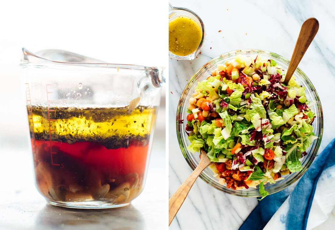 7 best salads on February 14