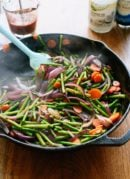Spring veggie stir fry