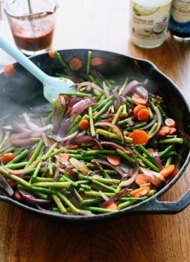 Spring Veggie Stir-Fry
