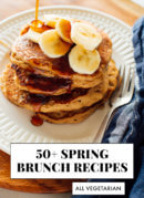 50 vegetarian spring brunch recipes
