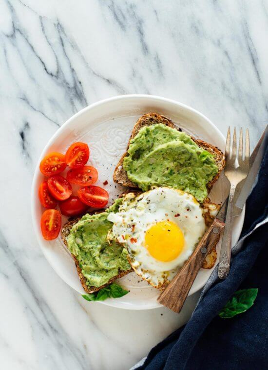 This avocado pesto toast recipe is fantastic for breakfast, brunch or any time of day, really!