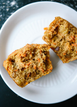 Healthy Carrot Muffins Recipe - Cookie and Kate