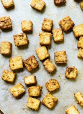 How to Make Crispy Baked Tofu - Cookie and Kate