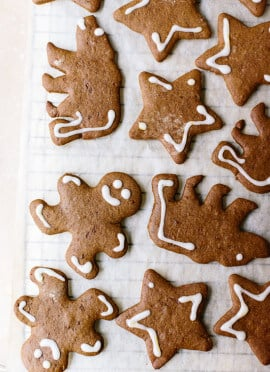 Healthy Gingerbread Cookies Recipe - Cookie and Kate