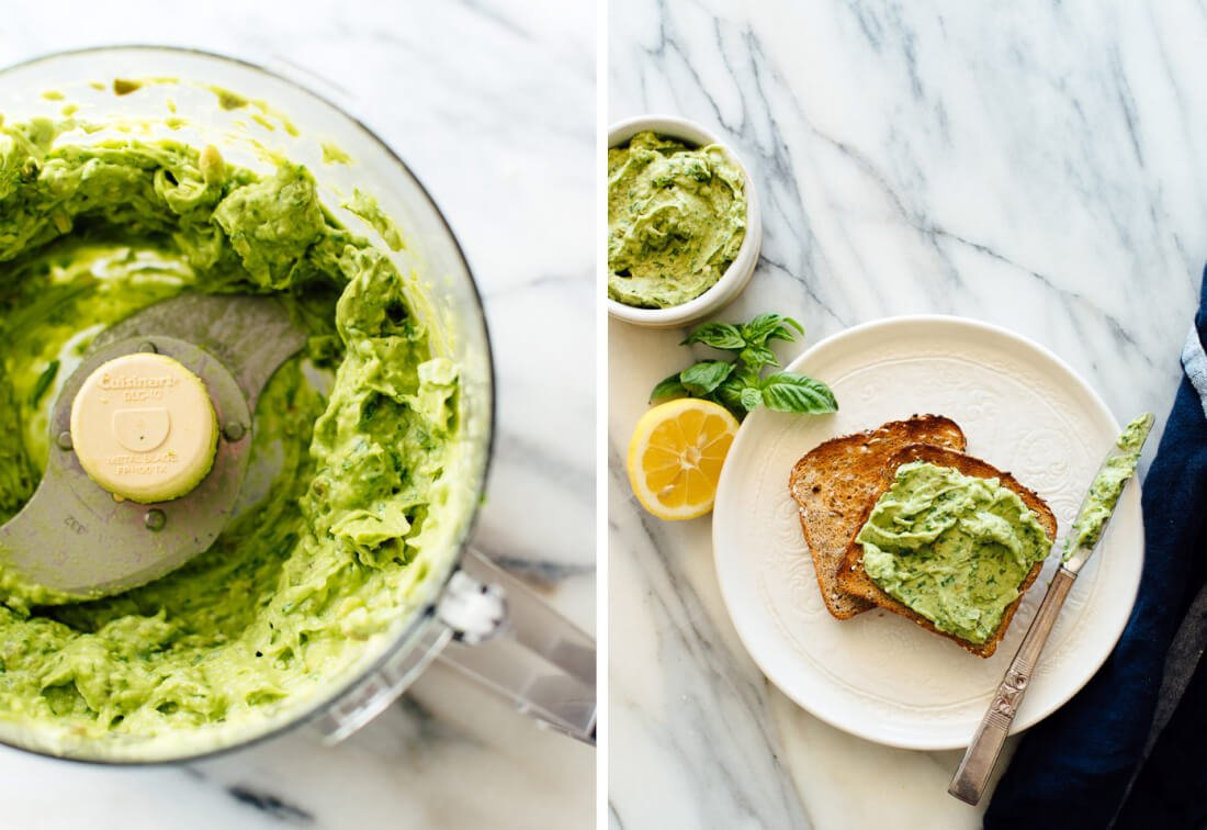 how to cut avocado for toast