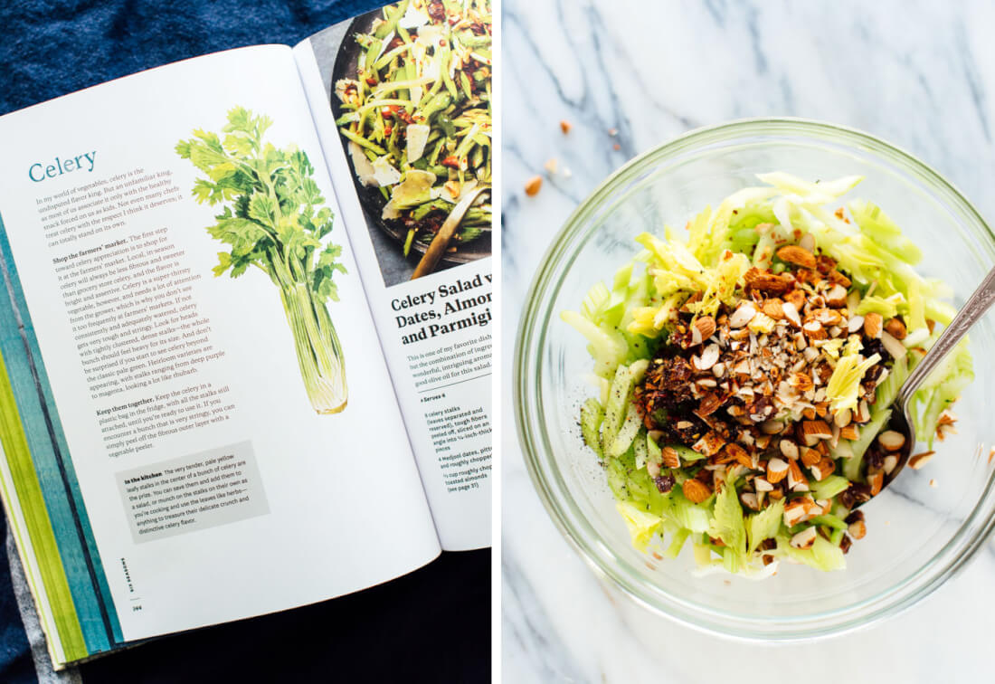 how to make celery salad